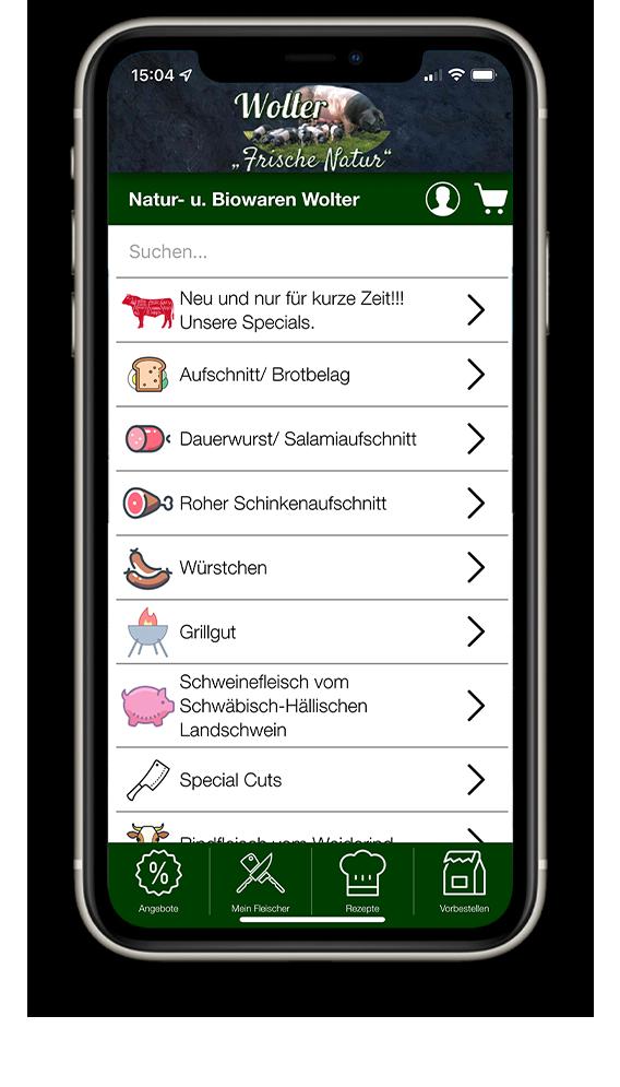 Die Vorbestell App